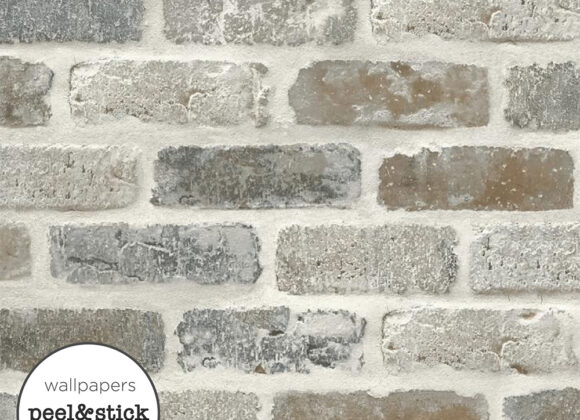Grey Brick- Stick Wall