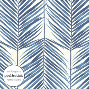 Paradise Palm Blue – Stick Wall